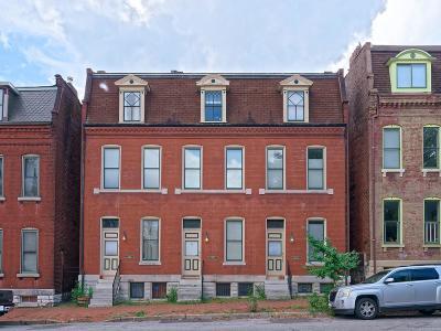 St Louis City County Single Family Home For Sale: 1002 Allen Avenue #A