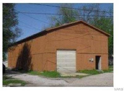 East Alton Commercial For Sale: 130 South Pence South