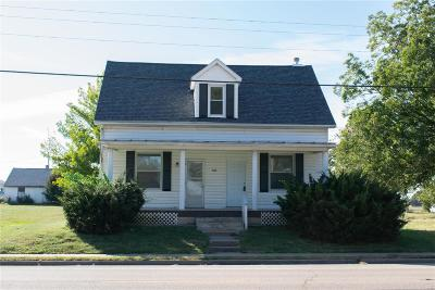 Hecker IL Single Family Home For Sale: $112,000