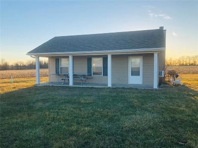 Perry Single Family Home Active Under Contract: 40305 Hwy 154