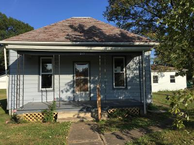 Marissa IL Single Family Home For Sale: $24,200