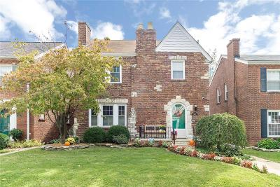 St Louis Single Family Home For Sale: 6220 Mardel Avenue