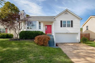 St Charles Single Family Home Contingent No Kickout: 1563 Brittany Timbers Drive