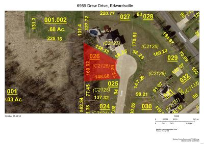 Edwardsville Residential Lots & Land For Sale: 6959 Drew Drive