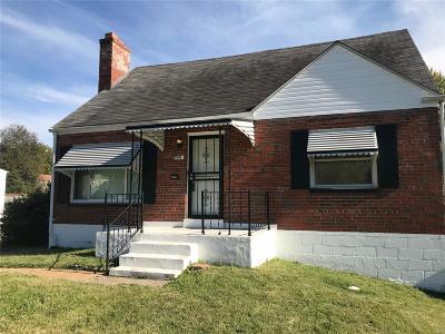 St Louis Single Family Home For Sale: 8540 Oriole Avenue