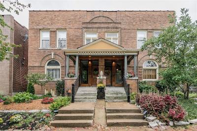 St Louis Condo/Townhouse For Sale: 4266 Castleman Avenue