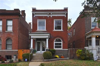 St Louis City County Single Family Home For Sale: 3863 McDonald Avenue