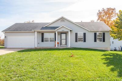Wentzville Single Family Home For Sale: 404 Pearl Creek Drive