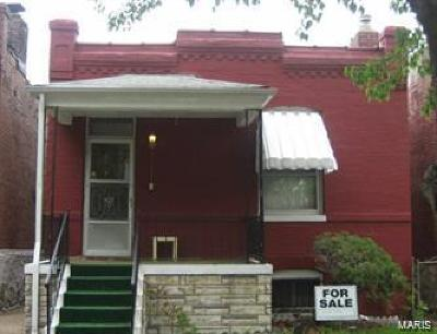 St Louis City County Single Family Home For Sale: 3047 Whittier