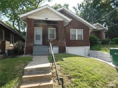 St Louis City County, St Louis County Single Family Home For Sale: 6714 Stratford Avenue