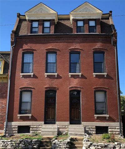 St Louis City County Multi Family Home Option: 2407 South 9th Street