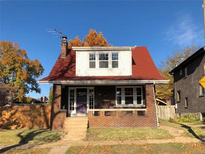 St Louis City County Single Family Home For Sale: 1119 Wilmington Avenue