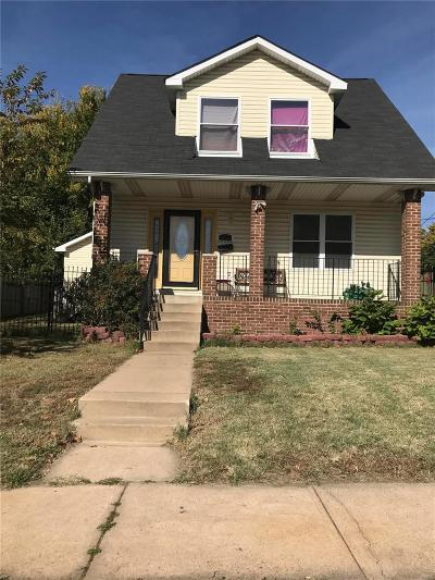 St Louis City County Single Family Home For Sale: 5307 Ruskin Avenue