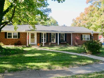 Kirkwood MO Single Family Home For Sale: $349,900