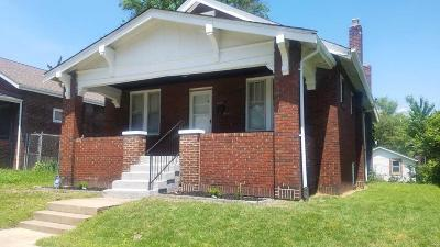 St Louis City County Single Family Home For Sale: 1027 Veronica Avenue
