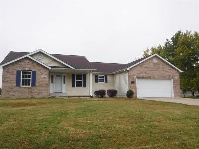 Jerseyville Single Family Home For Sale: 1216 Witt Mill Road