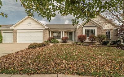 Dardenne Prairie Single Family Home Contingent No Kickout: 1504 Woodbury Drive