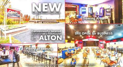 Alton Commercial For Sale: 2204 Fosterburg Road