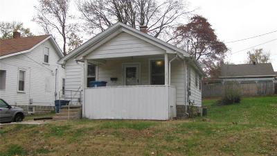 Alton IL Single Family Home For Sale: $29,000