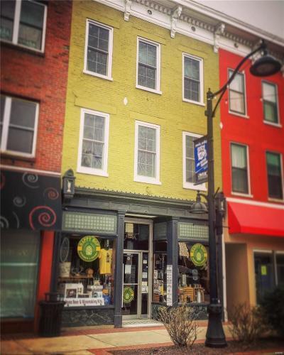 Belleville Commercial For Sale: 122 East Main Street