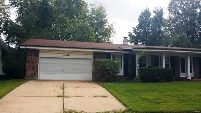 Florissant Single Family Home For Sale: 11588 Galba Drive