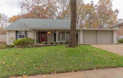 St Louis Single Family Home For Sale: 5917 Shortleaf Court