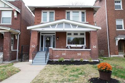 St Louis Single Family Home For Sale: 3817 Shaw Boulevard