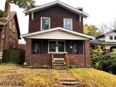 St Louis City County Multi Family Home For Sale: 3910 Parker Avenue