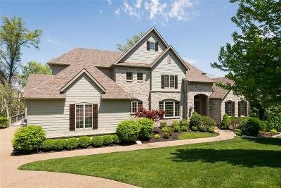 Dardenne Prairie, Defiance, Lake St Louis, O'fallon, St Charles, Wentzville, Chesterfield, Wildwood Single Family Home For Sale: 18255 Canyon Forest Court