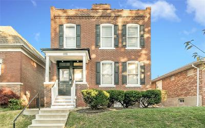 St Louis City County Multi Family Home Contingent No Kickout: 2820 January Avenue