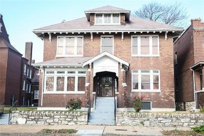 St Louis City County Single Family Home For Sale: 4015 Fair Avenue