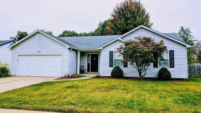 O'Fallon Single Family Home For Sale: 875 Molloy Drive