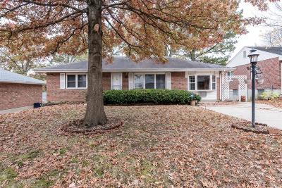 St Louis Single Family Home For Sale: 9534 Lodge Pole Lane