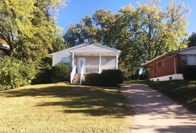 St Louis MO Single Family Home For Sale: $65,000