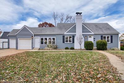 Single Family Home Contingent No Kickout: 9861 Affton Place