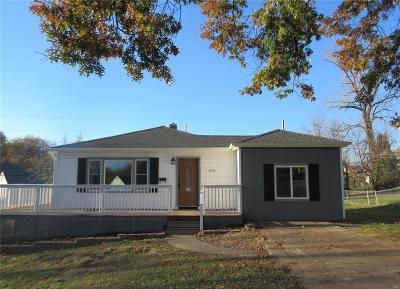 Hannibal MO Single Family Home For Sale: $127,500