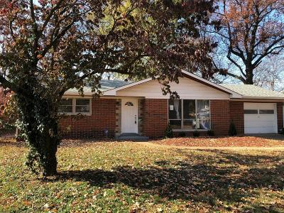 Belleville IL Single Family Home For Sale: $115,000