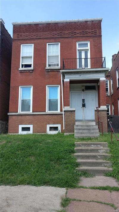 St Louis City County Multi Family Home For Sale: 3827 Minnesota Avenue