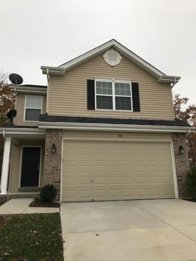 Wentzville Single Family Home For Sale: 646 Fair Bluff
