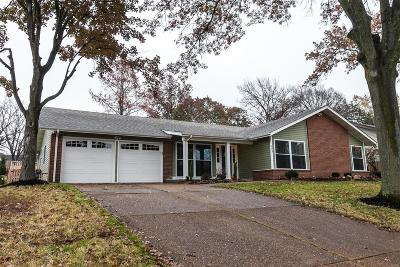 Ballwin Single Family Home For Sale: 505 Glenmeadow Drive