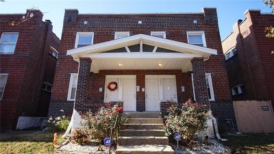 St Louis City County Multi Family Home For Sale: 3331 Salena