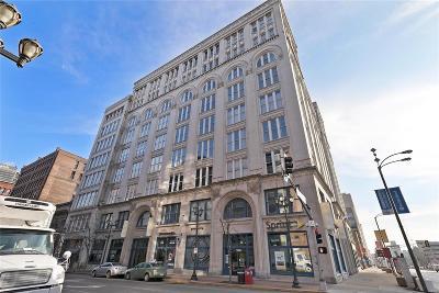 St Louis City County, St Louis County Condo/Townhouse For Sale: 1136 Washington Avenue #901