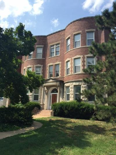 St Louis City County Single Family Home For Sale: 4317 Lindell Boulevard #G