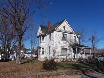 Monroe County, Ralls County Single Family Home For Sale: 408 W. Locust St.