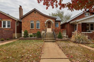 St Louis City County Single Family Home For Sale: 5518 Itaska Street