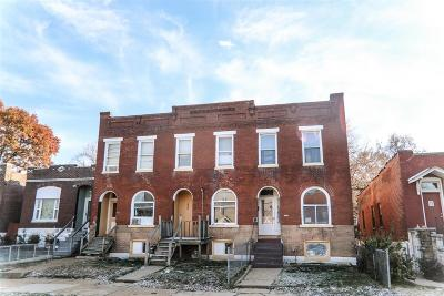 St Louis City County Multi Family Home For Sale: 4250 Swan