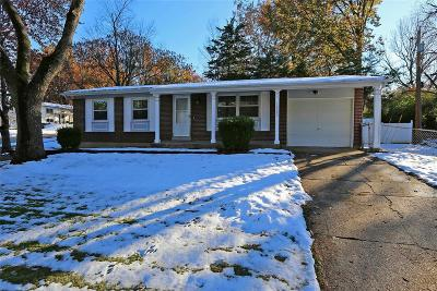 Maryland Heights Single Family Home Contingent No Kickout: 12480 Dawn Hill Drive
