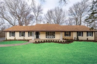 Sunset Hills Single Family Home For Sale: 12789 Weber Hill Road