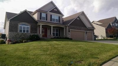 O'Fallon Single Family Home For Sale: 825 Snowberry Ridge Drive