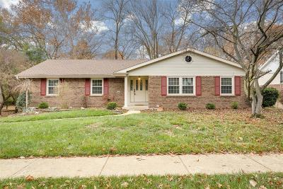 Ballwin Single Family Home For Sale: 912 Dutch Mill